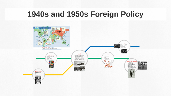 American foreign policy 1950s