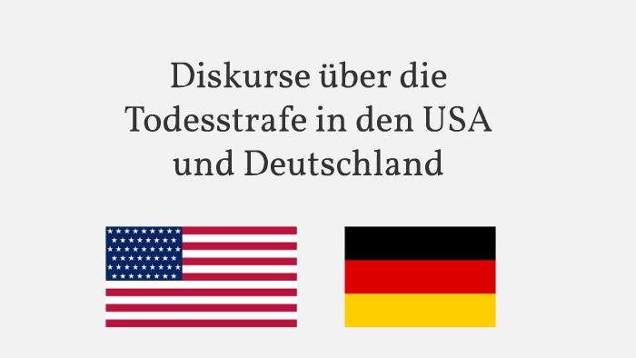Diskurse Uber Die Todesstrafe In Den Usa Und Deutschland By Juli Bed