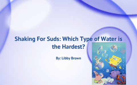 what type of water is the hardest