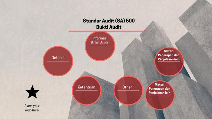 Sa 500 Bukti Audit By Tetti Manullang