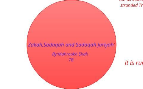 Zakah,Sadaqah And Sadaqah Jariyah' by Mahrookh Shah on Prezi