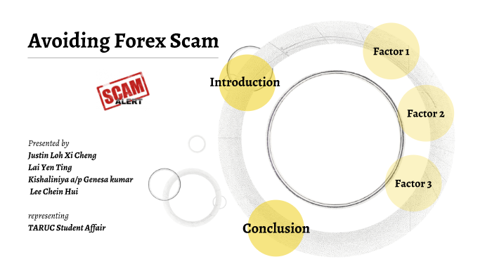 why forex is a scam