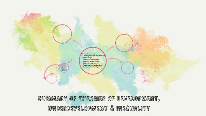 the development of underdevelopment summary