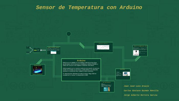 Sensor De Temperatura Arduino By Lovo Lovo On Prezi