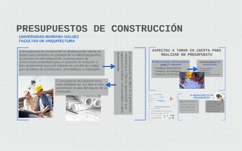 presupuestos de construcciÓn by julio sandoval on prezi