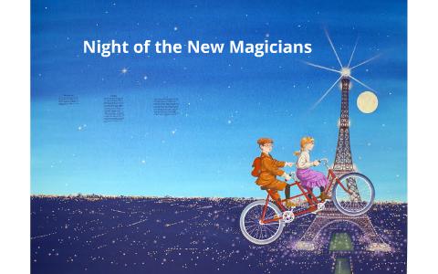 Book report on night of the new magicians door to door sales on a resume