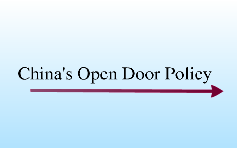 China S Open Door Policy Causes And Results By Sydney Dettmar On Prezi