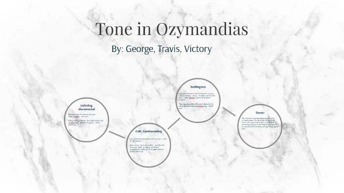 ozymandias tone and mood