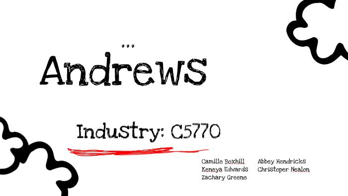 Andrew's Capsim by Camille Boxhill on Prezi
