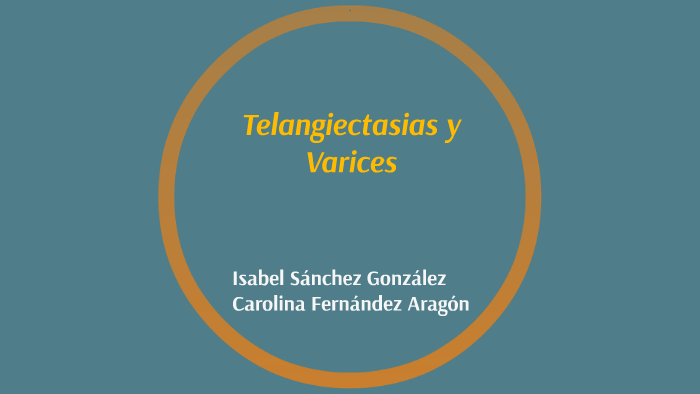 telangiectasias causas