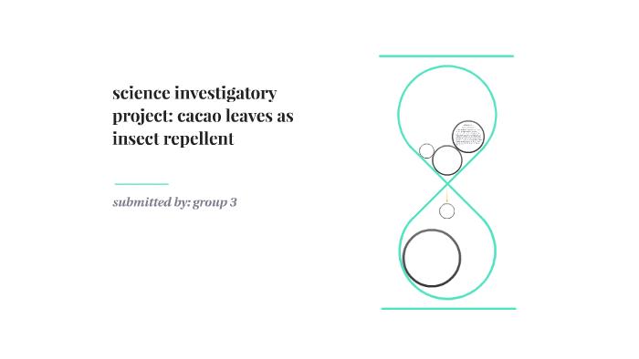 investigatory project paper