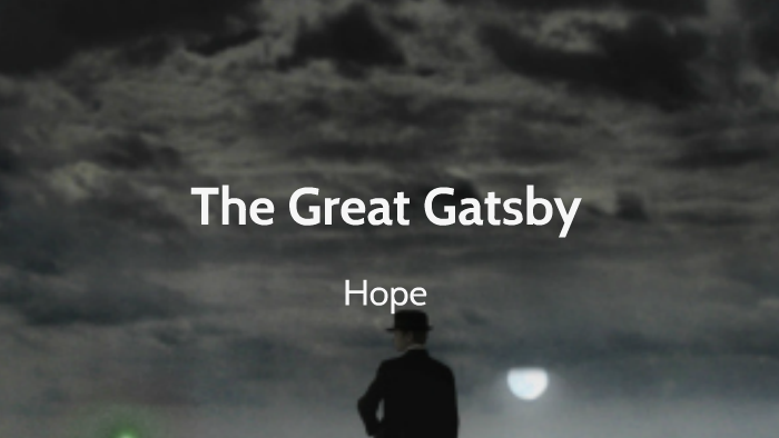 great gatsby hope