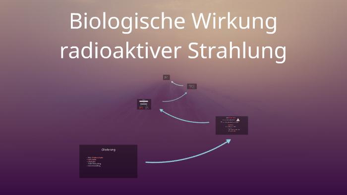 Biologische Wirkung Radioaktiver Strahlung By Alexandra M On Prezi