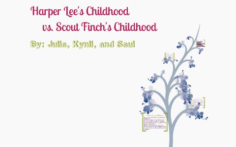 similarities between harper lee and scout finch