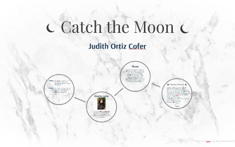 catch the moon by judith ortiz cofer theme