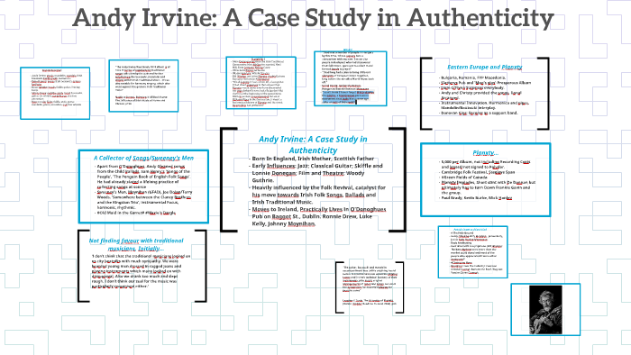 Andy Irvine: A Case Study in Authenticity by Cathal Nally on