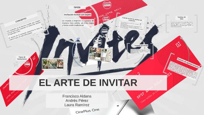 El Arte De Invitar By Laura Ramírez Duque On Prezi