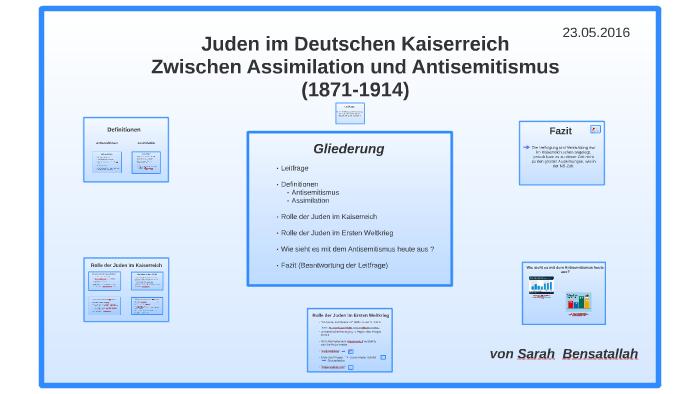 Juden Im Deutschen Kaiserreich By Sarah Bensatallah On Prezi