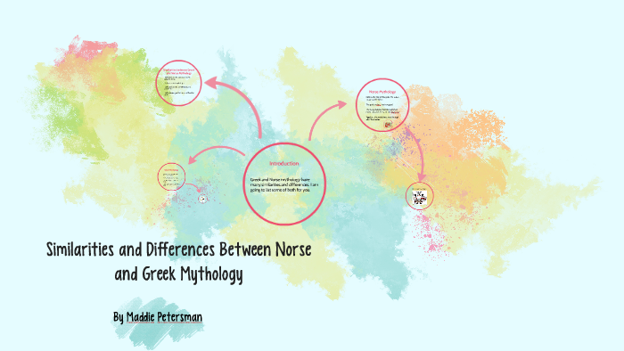 Similarities and Differences Between Norse and Greek Mytholo by