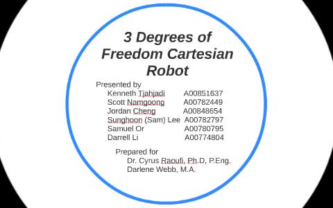 3 Degrees of Freedom Cartesian Robot by on Prezi