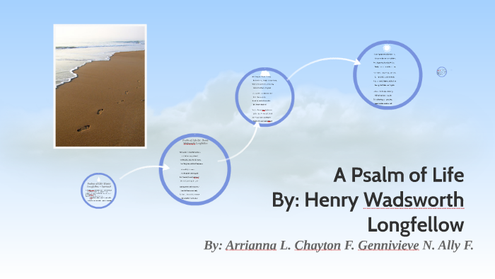a psalm of life by henry wadsworth longfellow summary