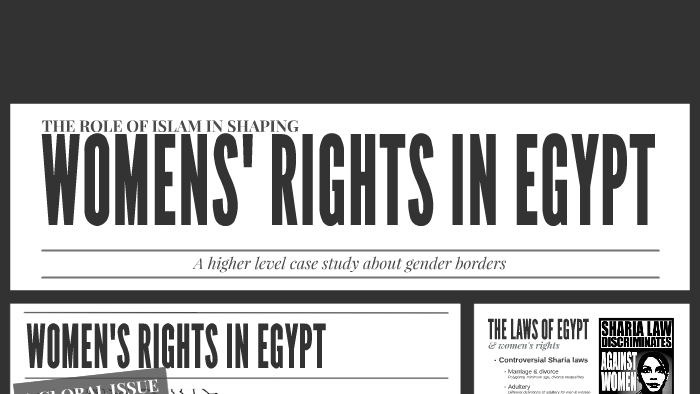 Women's Right in Egypt by Isabella Enryd on Prezi