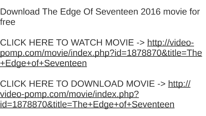 the edge of seventeen full movie download