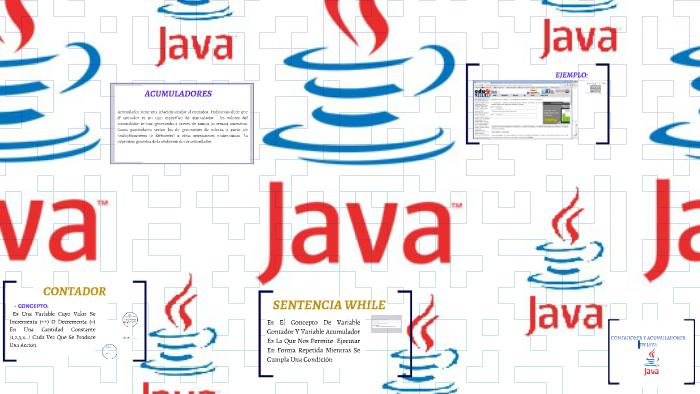 Contadores Y Acumuladores En Java By Paula Cuellar On Prezi