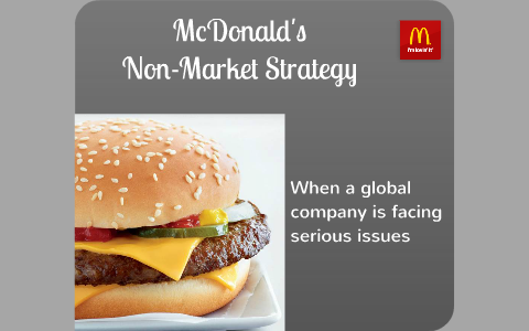 mcdonalds market strategy