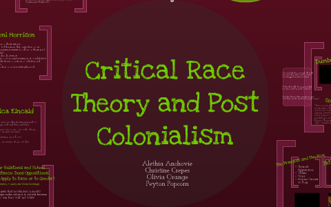 Critical Race Theory and Post-Colonialism in Disney Movies