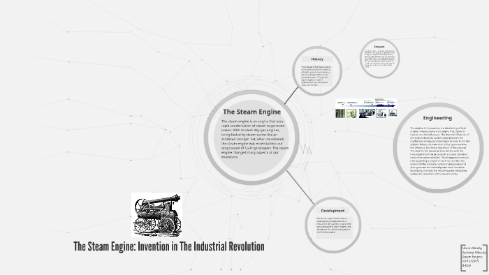 The Steam Engine Innovation In The Industrial Revolution By Noran