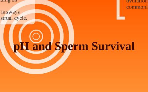 Is sperm acidic the