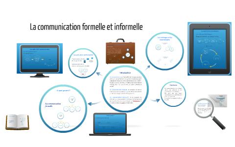 Communication formelle et informelle dissertation