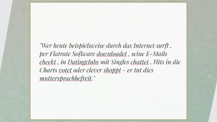 Sprachpflege In Deutschland By Ju Fla On Prezi