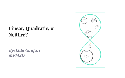 Linear Quadratic Or Neither By Lida Ghafari On Prezi