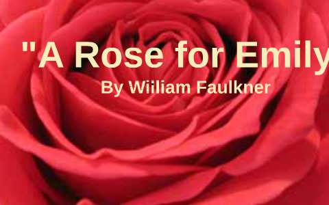 climax of a rose for emily