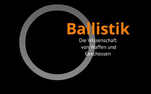 Forensische Ballistik