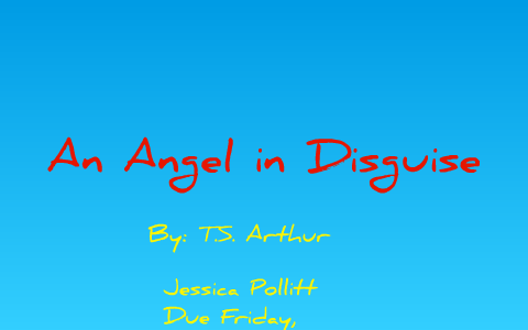 an angel in disguise short story summary