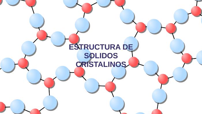 Estructura De Solidos Cristalinos By Olga Lucia Ruiz Santos