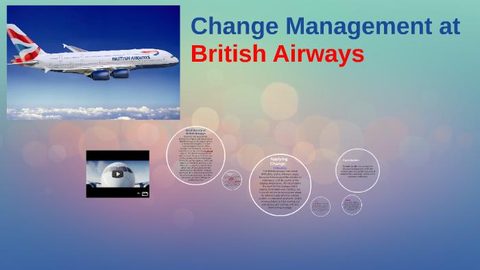 British Airways Change Management Example   Graduateway