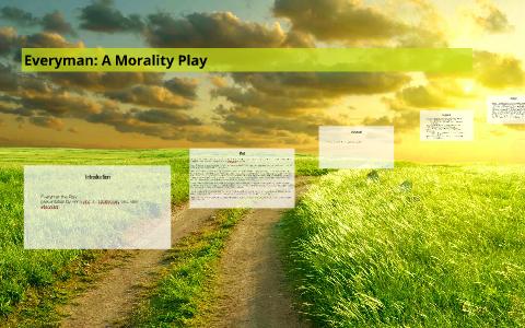 everyman morality play sparknotes
