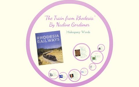 the train from rhodesia by nadine gordimer
