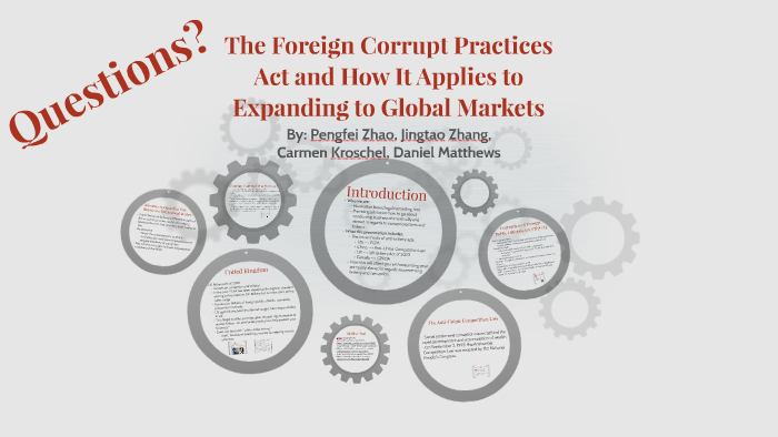 The Foreign Corrupt Practices Act And How It Applies To Expa