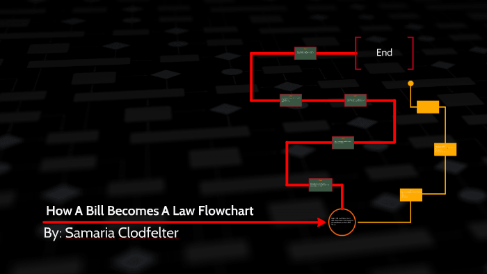 How A Bill Becomes A Law FlowChart by Samaria Clodfelter on ...