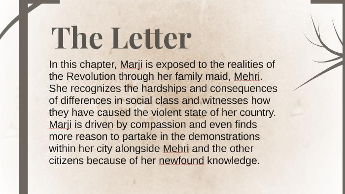 Persepolis The Letter By Shraddha Mishra