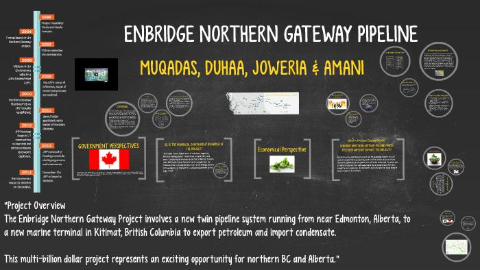 ENBRIDGE NORTHERN GATEWAY PIPELINE by Duhaa Rahamatullah on