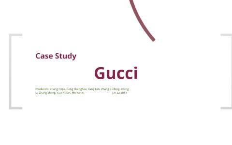 71f48436d24 Copy of Gucci Case Study by Hejia Zhang on Prezi