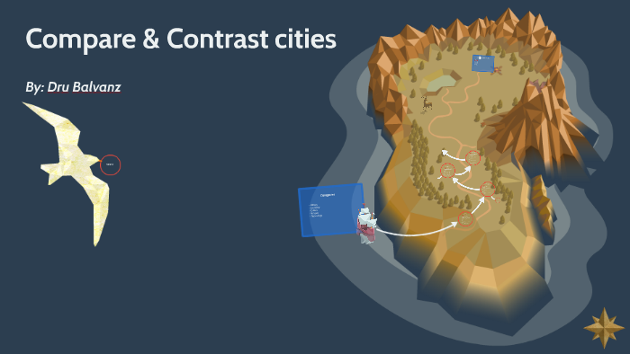 compare and contrast cities