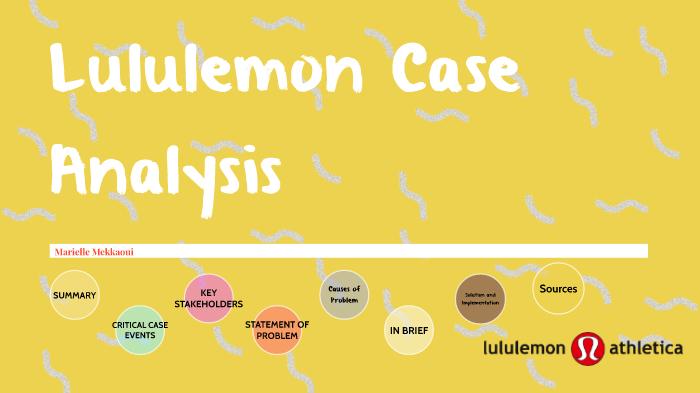 lululemon case study prezi