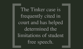 Tinker v  Des Moines School District (1969) by Alex Chan on